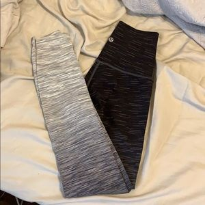 lululemon ombre leggings